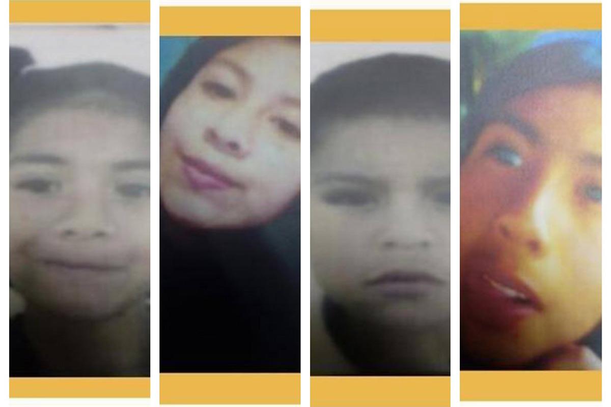 Ayúdanos a encontrar a 4 hermanitos desaparecidos en Hidalgo. Noticias en tiempo real