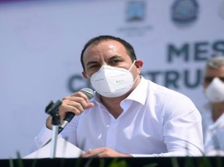Pide Cuauhtémoc Blanco prudencia tras cambio de semáforo en Morelos. Foto: @cuauhtemocb10