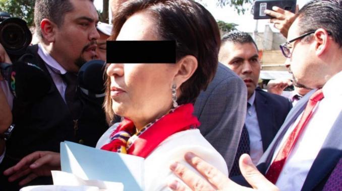Rosario Robles formaliza solicitud para ser testigo colaboradora. Noticias en tiempo real