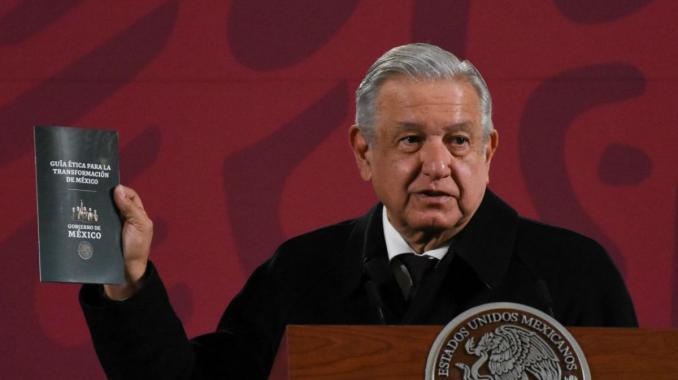 ¿Conoces de que trata la guía ética para la transformación de México que presentó López Obrador?. Noticias en tiempo real