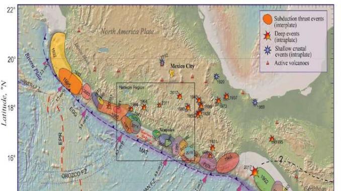 Qué es la brecha de Guerrero, la zona sísmica que lleva acumulando energía 110 años. Noticias en tiempo real