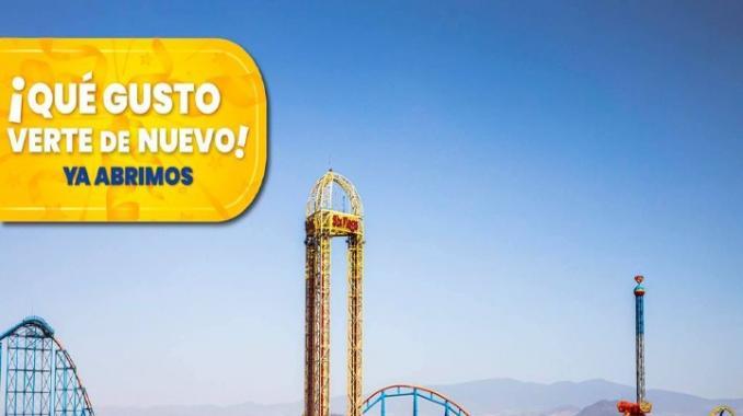 Con acceso restringido Six Flags reabre sus puertas. Noticias en tiempo real
