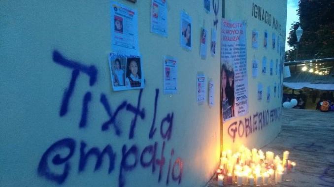 Sepultan a la niña asesinada en Tixtla. Noticias en tiempo real