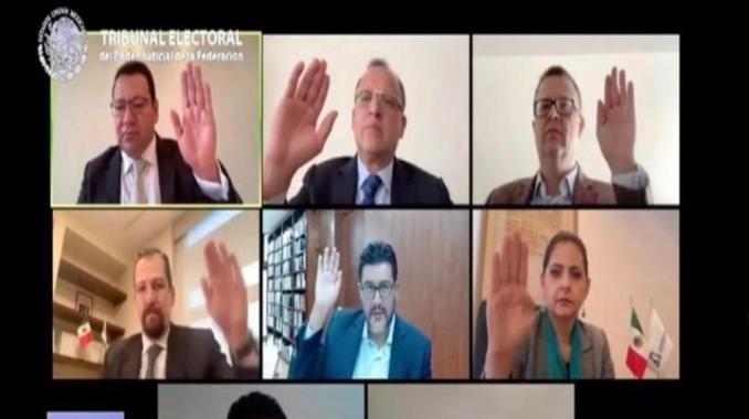 Avala TEPJF encuestas para elegir a dirigente de Morena. Noticias en tiempo real